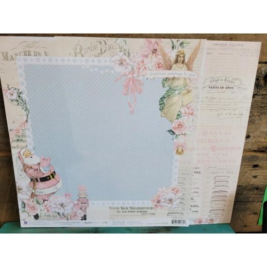 Papier 12'' x 12'' de Prima- Winter sparkle