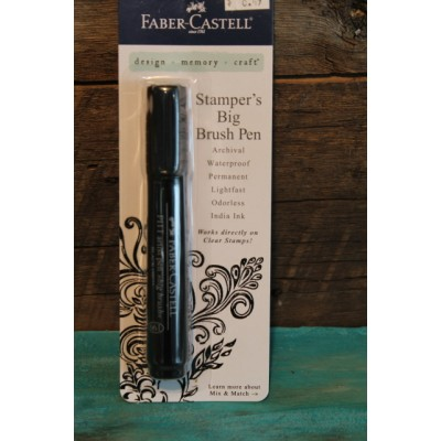 Faber- Castel Big Brush Pen - noir