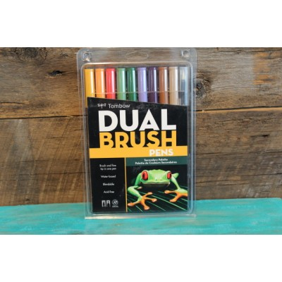 Crayon Tombow Dual Brush - palette de couleurs secondaires