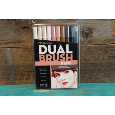 Crayon  Tombow Dual Brush