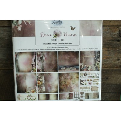 3 Quarter Desings - kit 12x12 Dear Nana