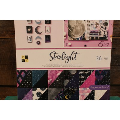 Bloc de papier 12x12 Amrican Craft - Starlight