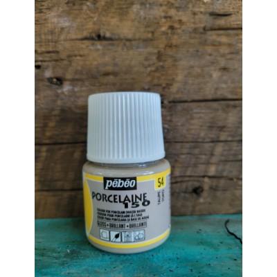 Pébéo- Peinture pour porcelaine - Taupe 54