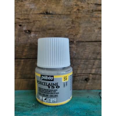Pébéo- Peinture pour porcelaine - Gris